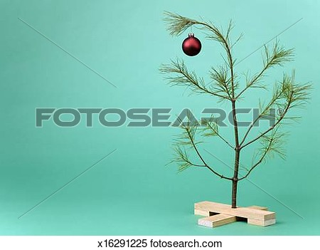 Sparse Pine Tree Clipart.