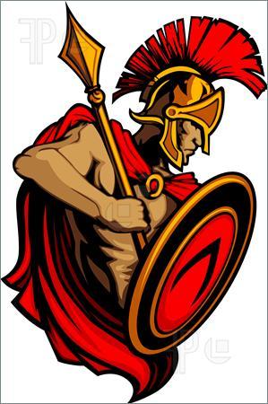 Spartan Clip Art.