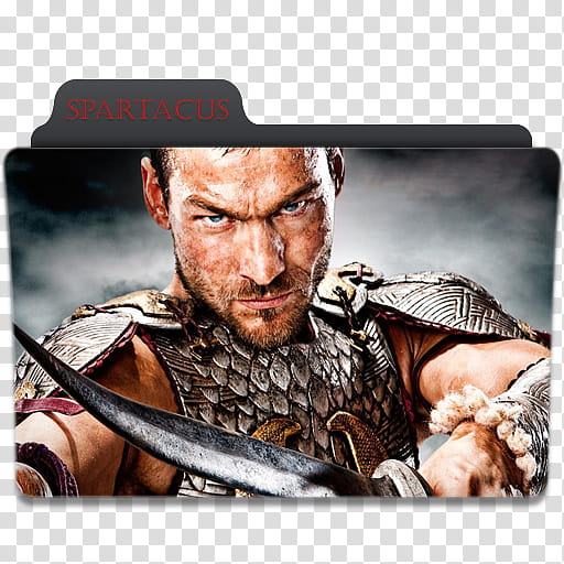Custom Tv Show Icon , Spartacus transparent background PNG.