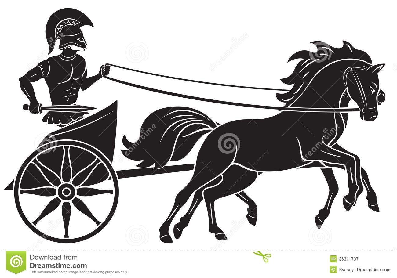 Chariot Royalty Free Stock Photography.