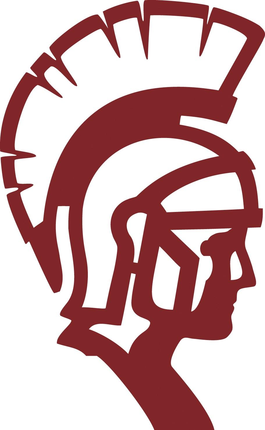 Spartan head clip art.