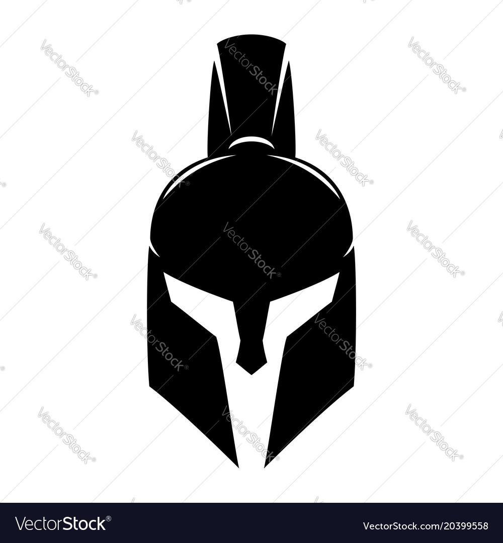 Spartan helmet sign.