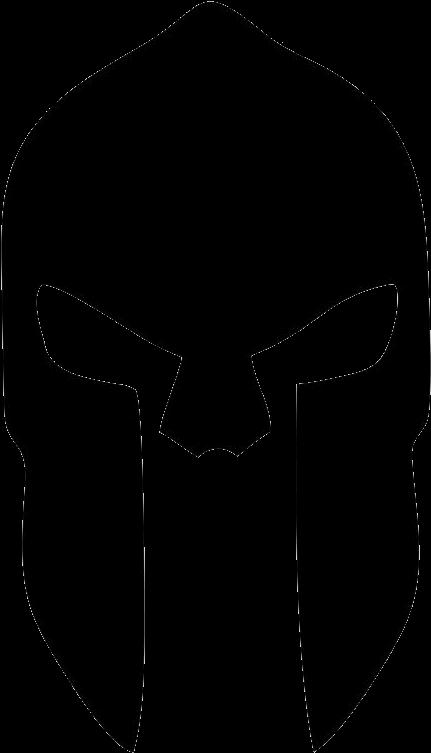 Spartan Helmet Logo.
