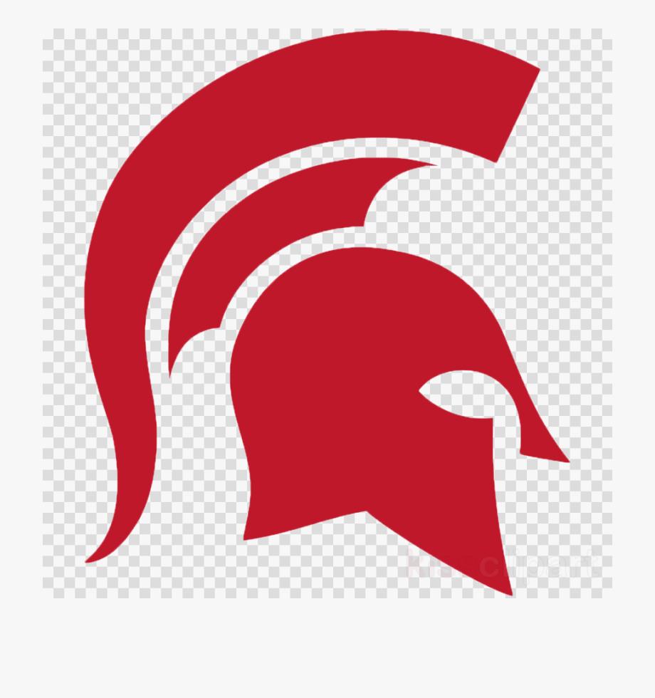 Spartan Helmet Logo Clip Art.
