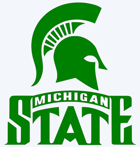 Details about Michigan State Spartans Logo Decal Car Window Sticker.
