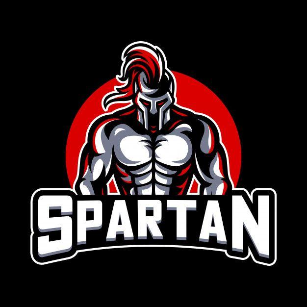 Spartan mascot logo Premium Vector in 2019.