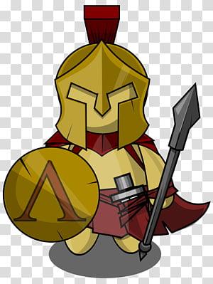 Spartan army Soldier , Spartan Soldier transparent.