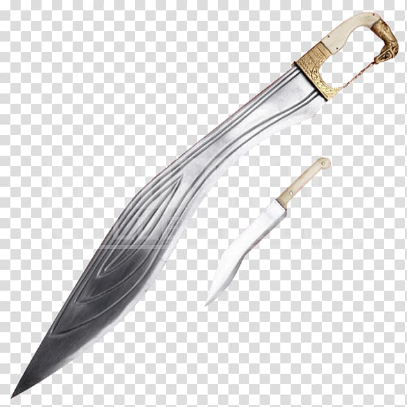 Kopis Spartan army Xiphos Ancient Greece, Sword transparent.