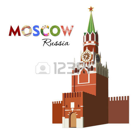 186 Spasskaya Tower Stock Illustrations, Cliparts And Royalty Free.