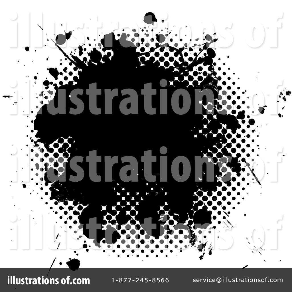 Ink Splatter Clipart.