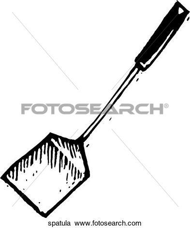 Clipart of Spatula ki_spatula.