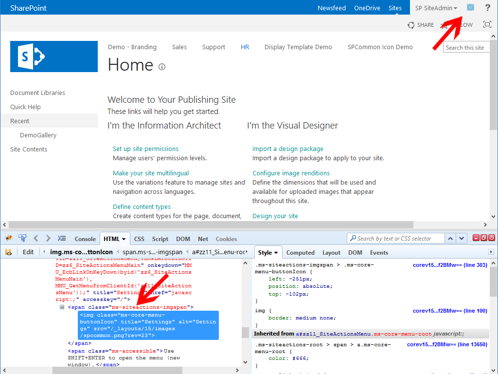 Use SharePoint Online Composed Looks and Theming Engine to.