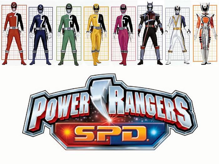 Power Rangers SPD.