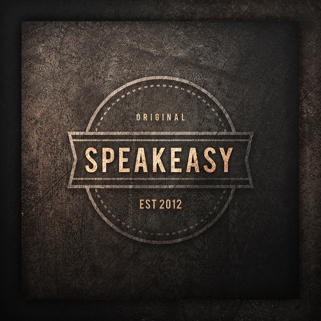 NEW! Speakeasy Logo.