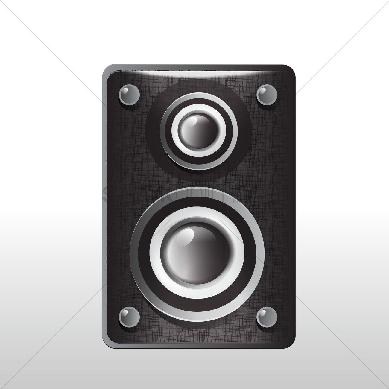 Speaker box Vector Image.