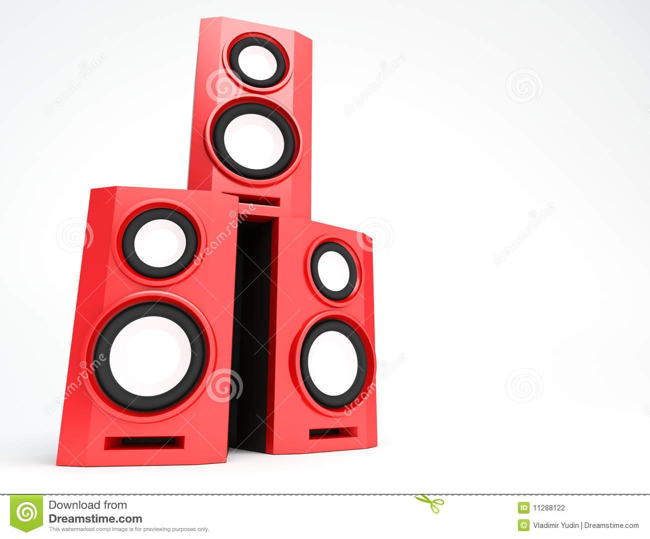 Speaker, Loudspeaker, Woofer, Speakerbox Stock Photography.