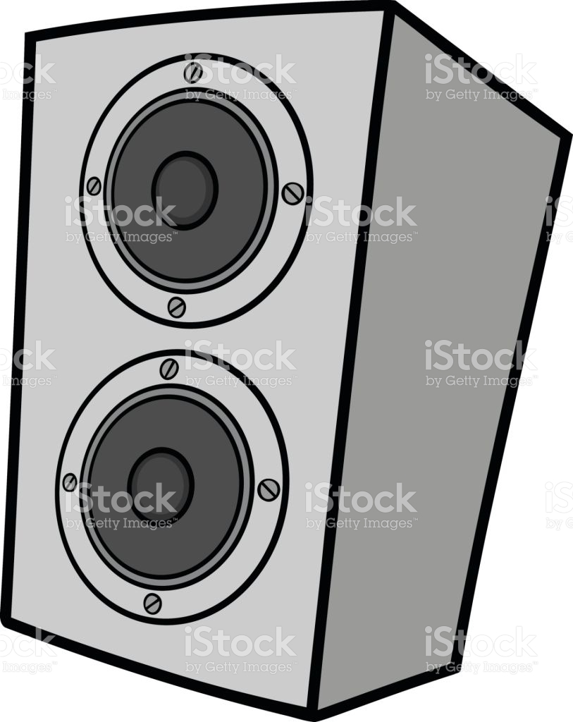 Speaker Cabinet Illustration stock vector art 652719214.