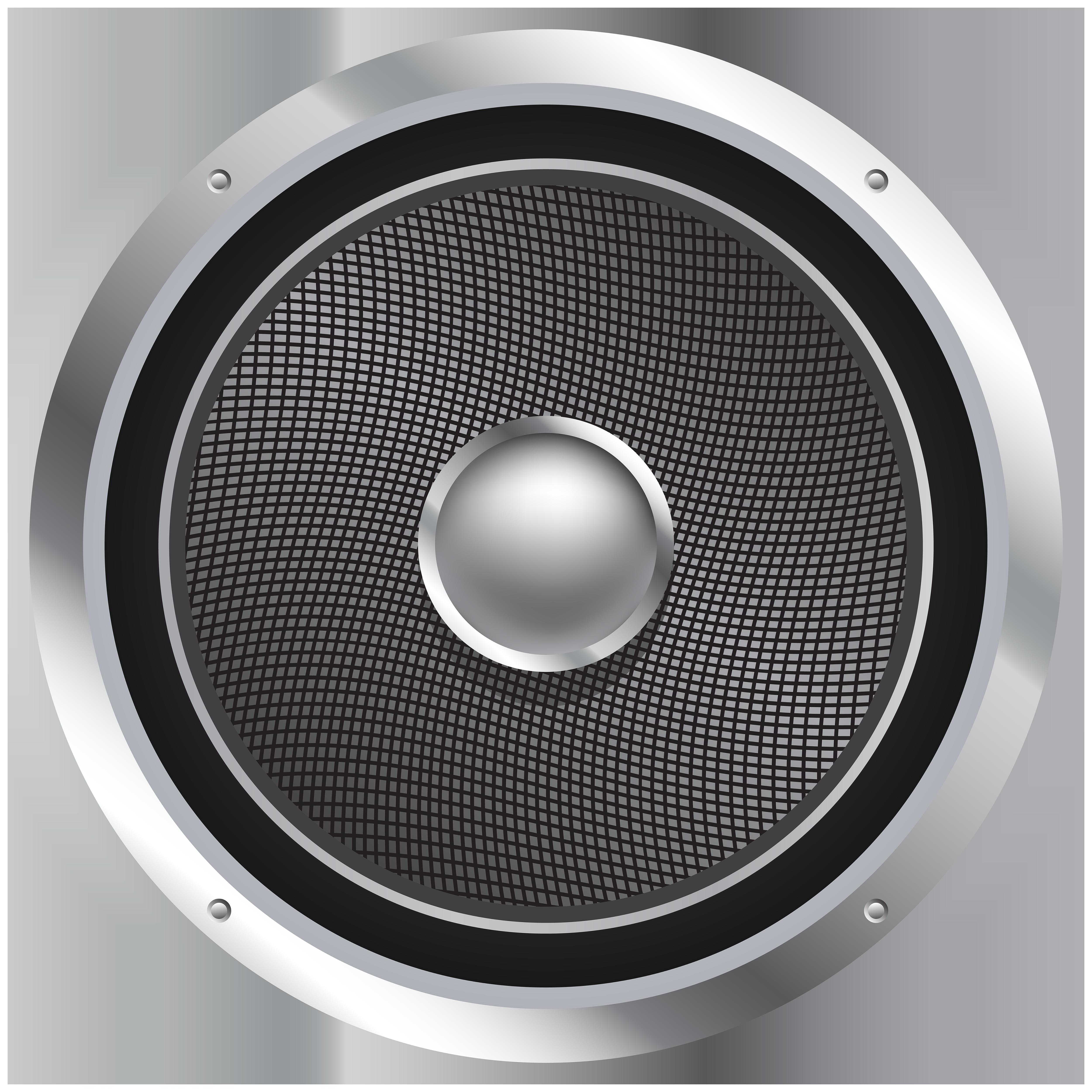 Speaker PNG Clip Art Image.
