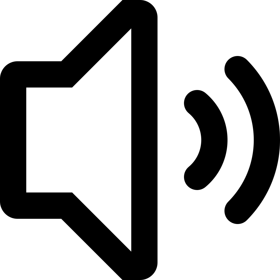 Speaker Audio Interface Symbol Svg Png Icon Free Download.