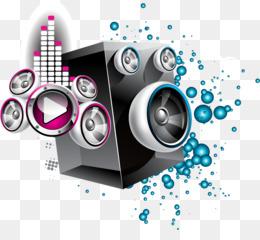 Speaker Vector PNG.