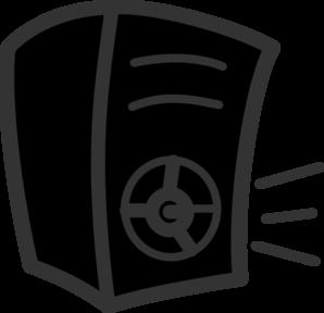 Clipart speakers.