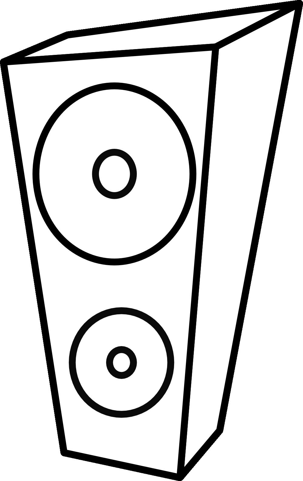 Computer Speakers Clipart.