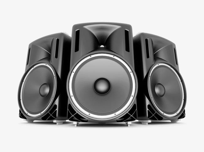 Music Speakers, Black, Music, Speakers P #23809.