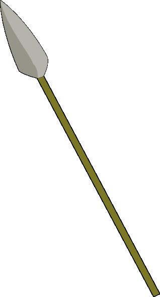 Spear Clip Art at Clker.com.