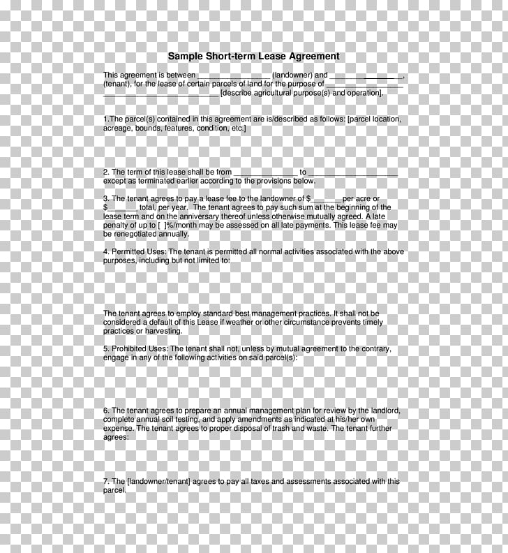Rental agreement Lease Contract Renting Template, others PNG.