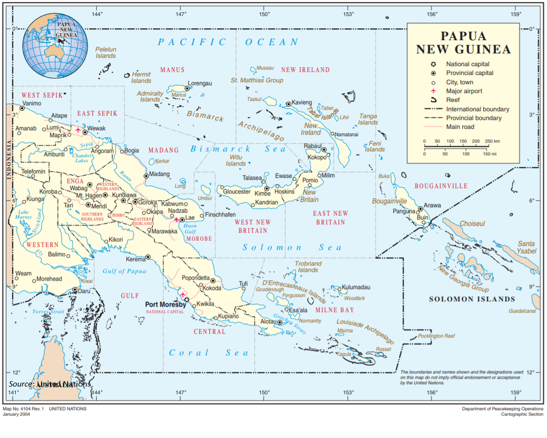 Papua New Guinean Agriculture: Significant Opportunity and.