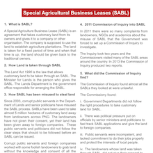 Special Agricultural Business Leases (SABL).