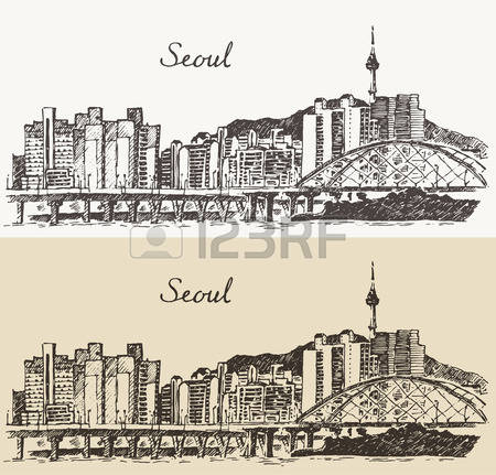 1,641 Seoul Cliparts, Stock Vector And Royalty Free Seoul.