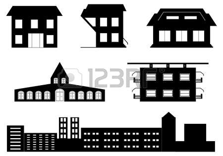 Architecture Pictogram Stock Photos Images. Royalty Free.