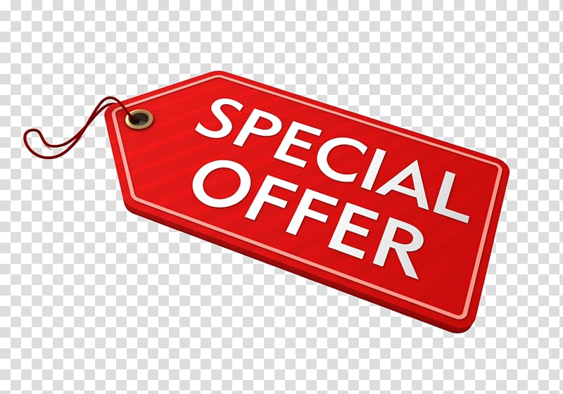 Red special offer tag , Discounts and allowances Price tag.
