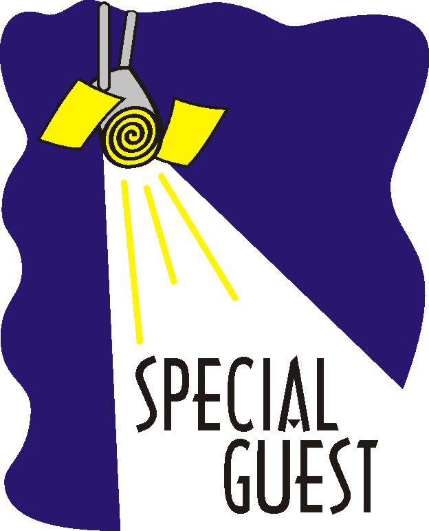 Special guest clipart.