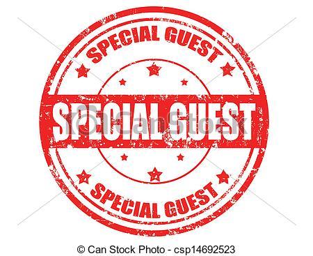 Special guest clip art.