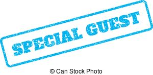Special guest stamp Vector Clipart Royalty Free. 73 Special.