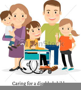 Special Needs Kids Clipart.