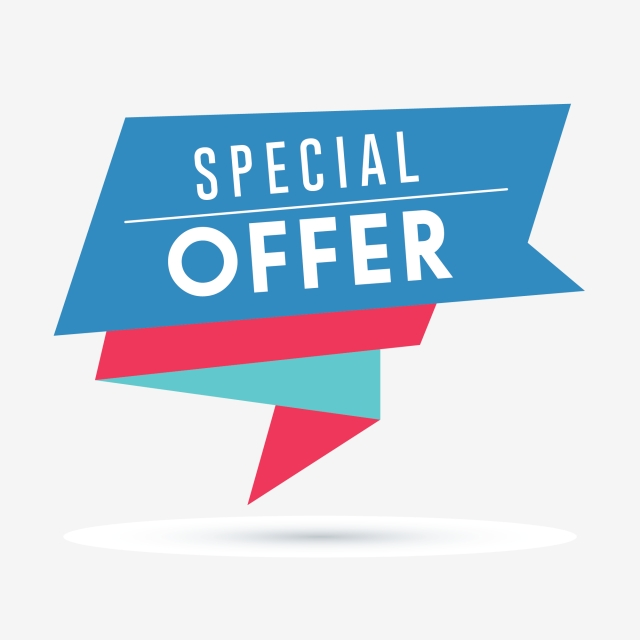 Special Offer Banner, Banner, Sale, Discount PNG and Vector.