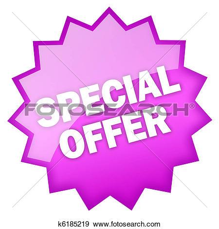 Stock Illustration of Special offer k6185219.