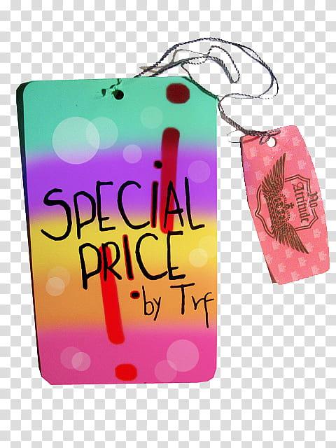 Etiquetas, Special Price transparent background PNG clipart.
