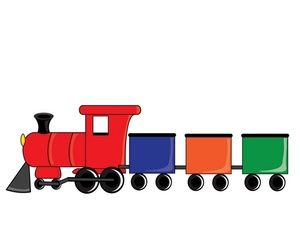 clipart train gratuit.