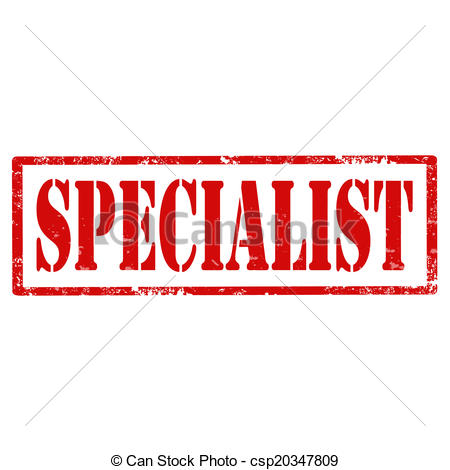 Vector Clipart of Specialist.