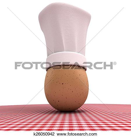 Clip Art of Egg specialties k26050942.