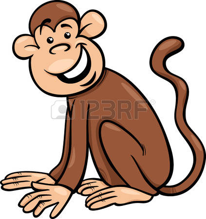 709 Monkey Species Stock Vector Illustration And Royalty Free.