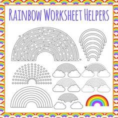Alphabet Worksheet Helper Clip Art Bundle.