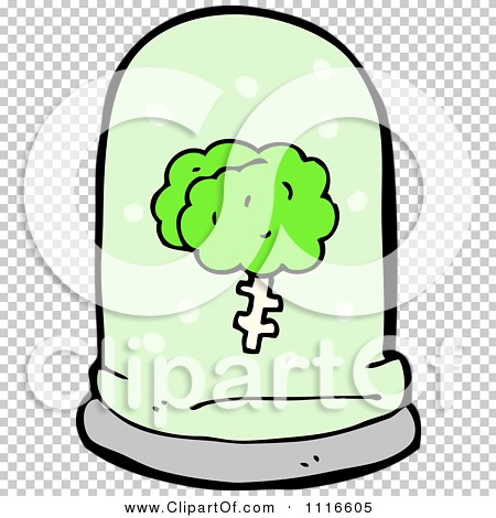Clipart Green Brain Floating In A Specimen Jar 3.