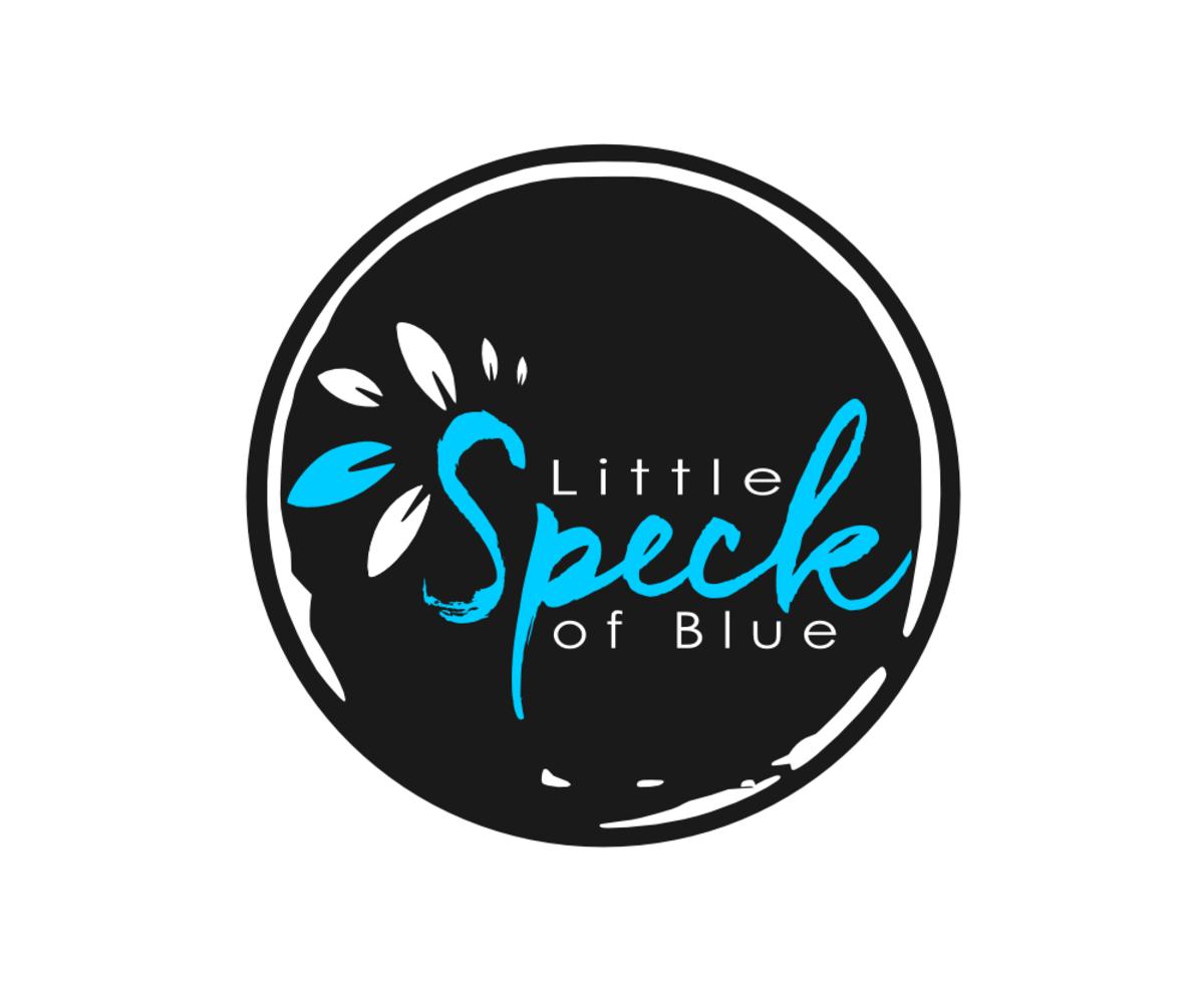 Bold, Playful, Boutique Logo Design for Little Speck of Blue.