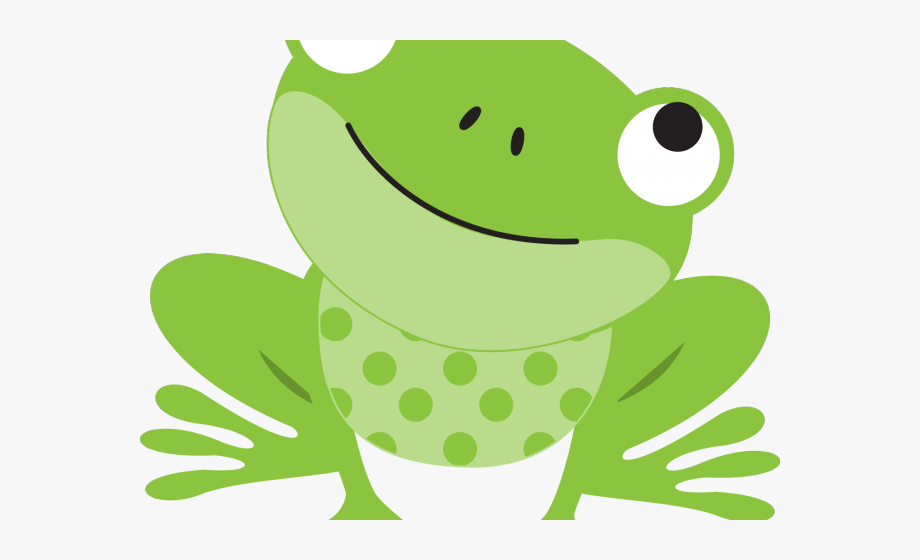 Green Frog Clipart Girly.