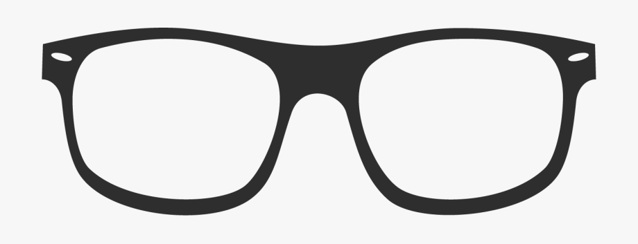 Specs Clipart Black And White.